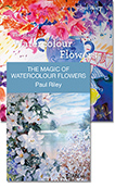 The Magic of Watercolour Flowers: Book & DVD Package
