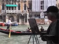 A Vision of Venice in Watercolour - Ken Howard OBE RA