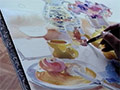 At Home with Watercolour - Karen Simmons