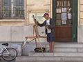 Painting Arles - Peter Brown